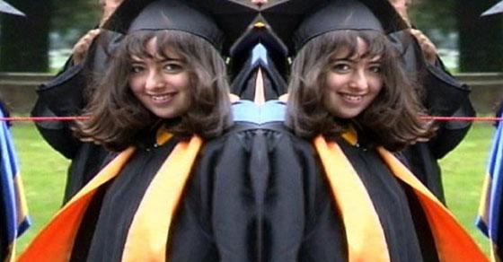Alia sabur,mahasiswa,cerdas,pintar,professor