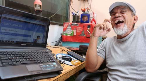 Soetantyo Moechla,mukidi,penulis cerita mukidi