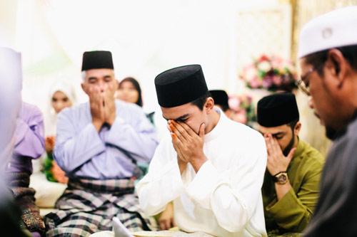 ijab qabul,gugup,pernikahan