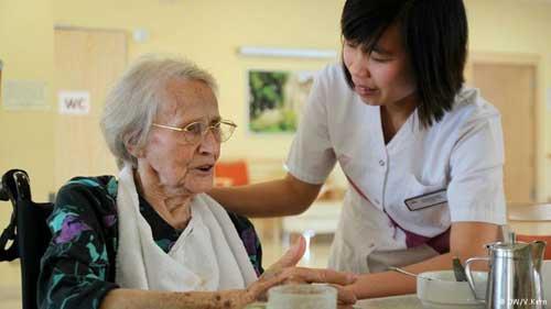 perawat lansia,pekerjaan,sosial