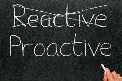 reaktif,proaktif