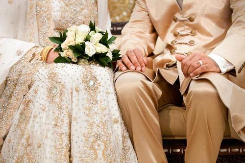 mengobrol,pengantin,menikah