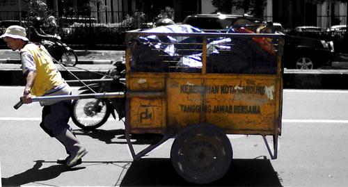 tukang sampah, sampah