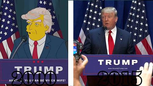 donald trump, presiden amerika,the simpsons,ramalan