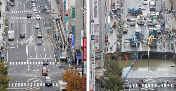 Jepang,fukuoka,jalan ambles