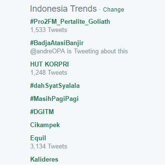 equil,twitter,trending topik