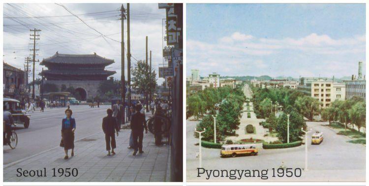 wajah korea,korea utara,korea selatan,perang dunia,1950