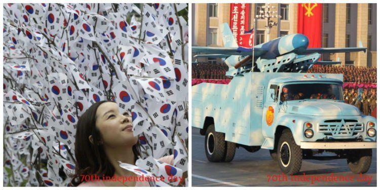 korea utara,korea selatan,hari kemerdekaan