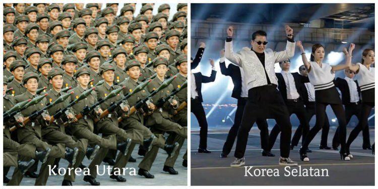 korea utara,korea selatan,gangnam style,militer
