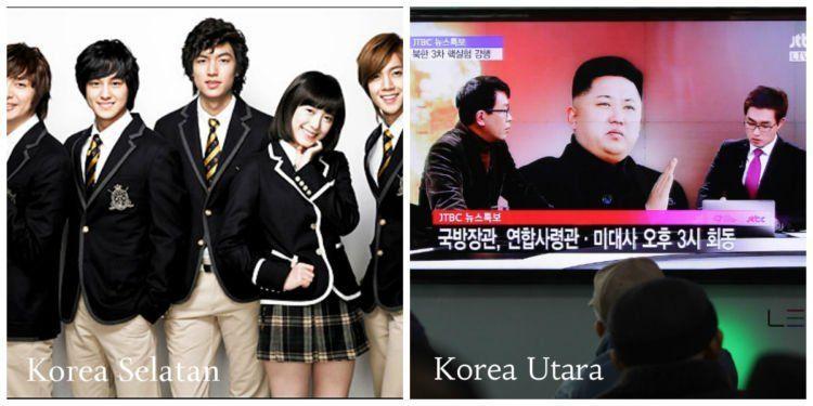 korea utara,korea selatan,drama korea,televisi,drakor
