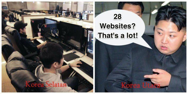 korea utara,korea selatan,internet,koneksi