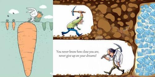 Jangan mau menyerah dengan keadaan