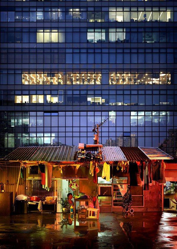 Hong Kong, perbedaan antara kaya dan miskin