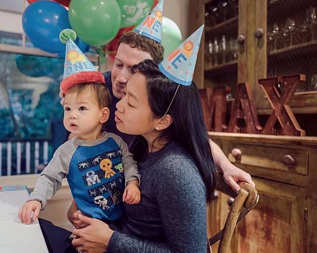 Perayaan putri Mark Zuckerberg digelar secara sederhana