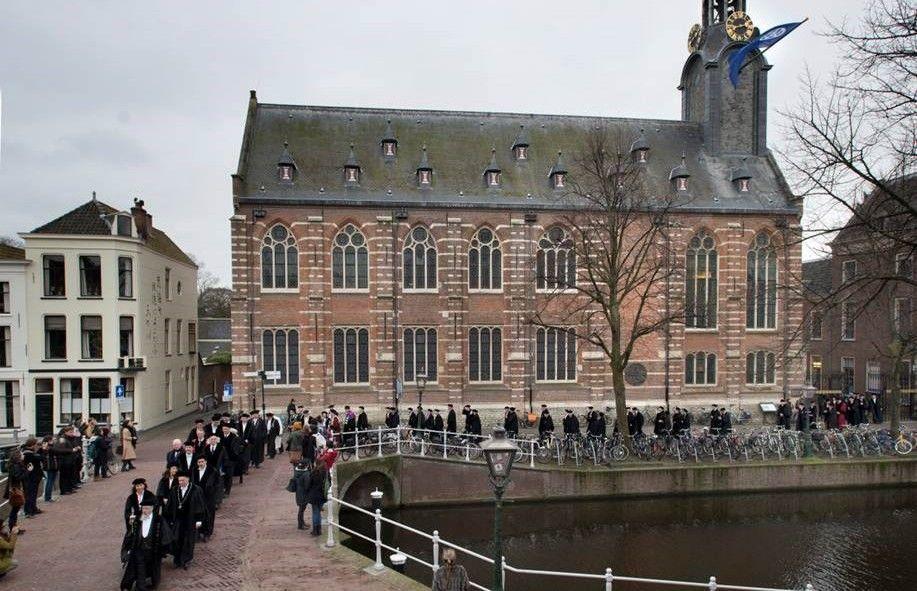 Universiteit Leiden di Belanda