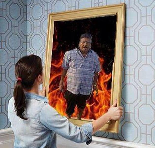 10. Si Bapak kenapa jadi berapi- api gitu sih?