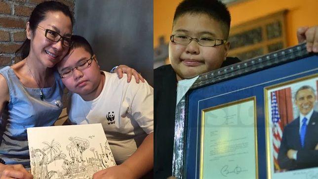 Delwin Cheah, bocah autis dengan karya yang bikin takjub
