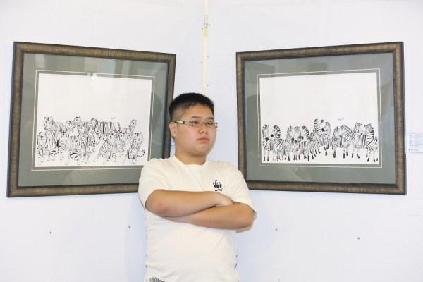 Sejak usianya menginjak lima tahun, Delwin Cheah Wien Loong didiagnosis menderita sindrom Asperger's
