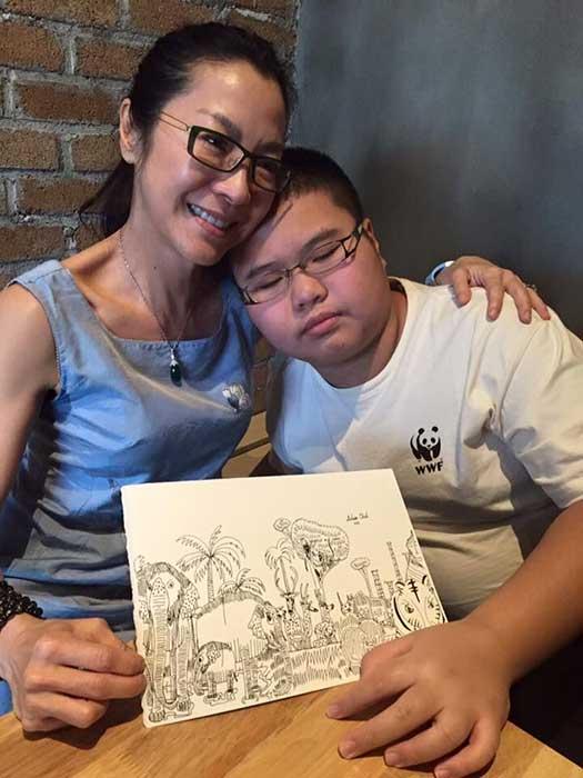 Delwin Cheah pun mendapatkan apresiasi dari Michelle Yeoh