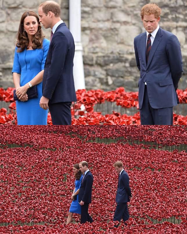 4. Moment romantis di Taman Bunga yang cantik. Duhhh… ekspresi Pangeran Harry bener- bener nggak nguatin! >.<