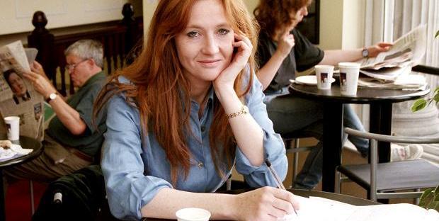 Jk Rowling muda