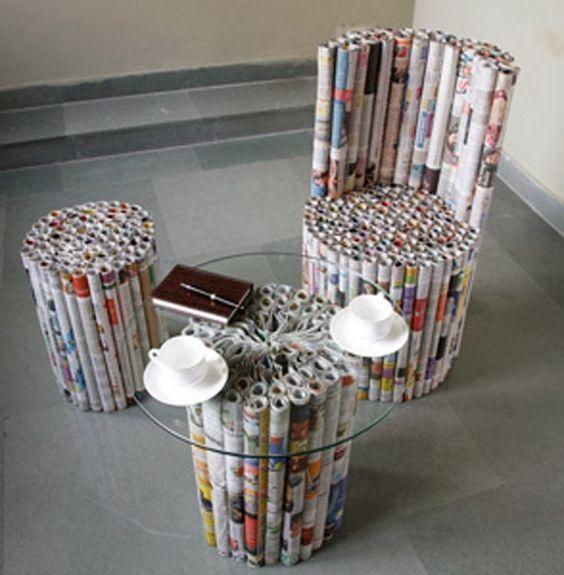 7. Bisa juga dijadiin furniture rumah kayak gini!