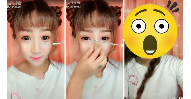 Foto bikin takjub before and after make up