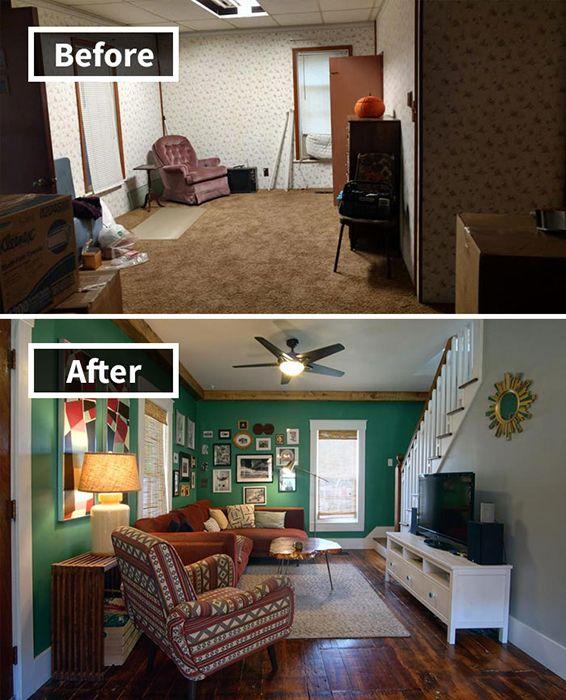 4. Ruangan ini sebelumnya terlihat sempit karena adanya sekat dindingnya