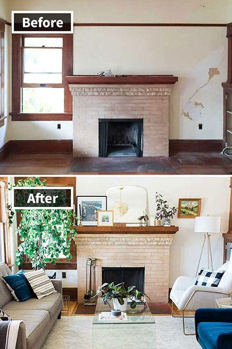 8. Untuk membuat ruanganmu terasa lebih sejuk dan nyaman, kamu bisa mengakalinya dengan menambah ornament tanaman di sudut- sudut ruangan.