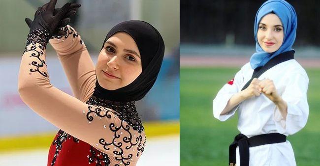 7 Atlet Berhijab Cantik yang Menggetarkan Dunia Lewat Prestasinya
