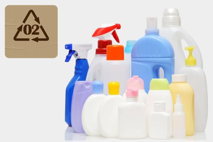 Arti HDPE pada kemasan botol
