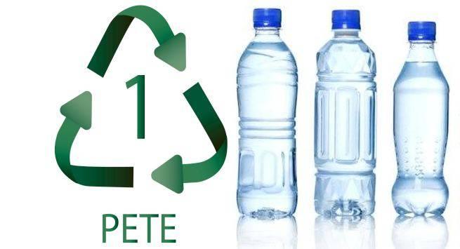 Arti tanda PETE atau PET pada kemasan botol