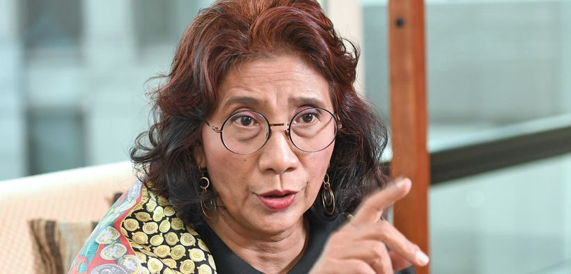 Menteri Perikanan Susi Pudjiastuti