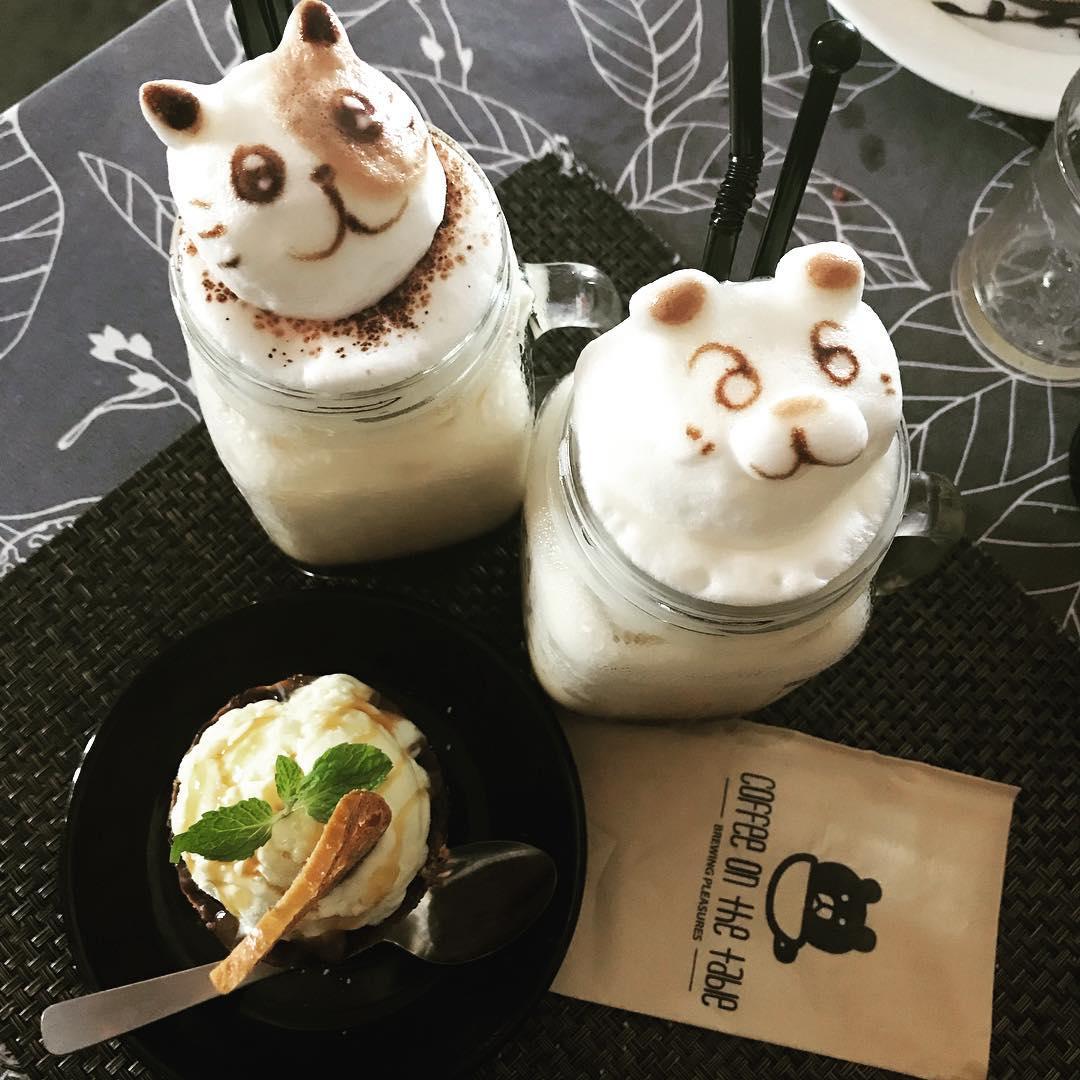 3D Latte, salah satu makanan paling instagramable sepanjang masa
