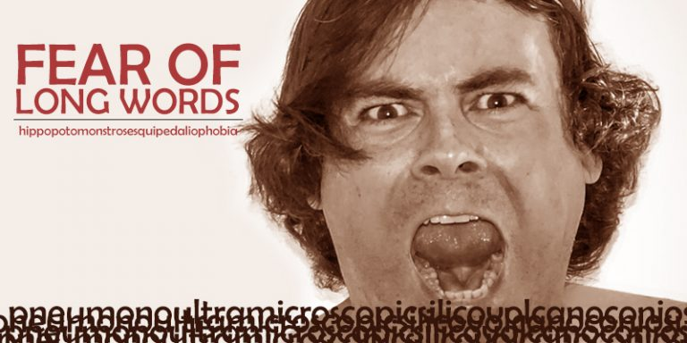 Hippopotomonstrosesquippedaliophobia, fobia aneh takut terhadap kalimat panjang