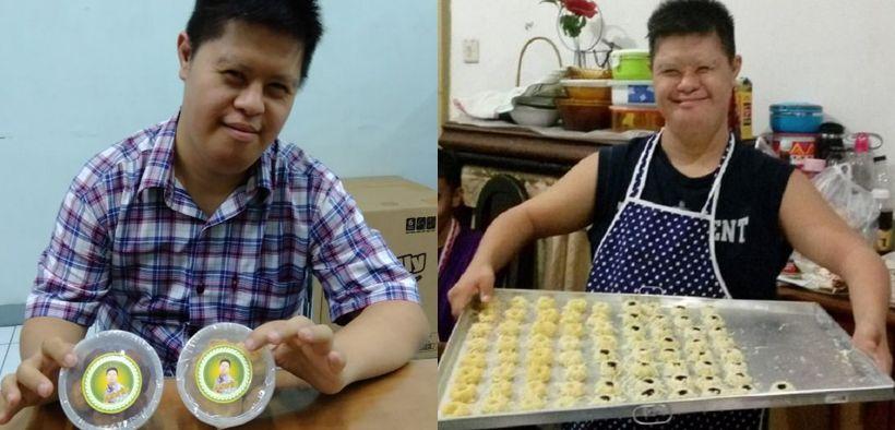 Kisah Aswin Nugroho, Penyandang Down Syndrome yang Sukses Berjualan Kue