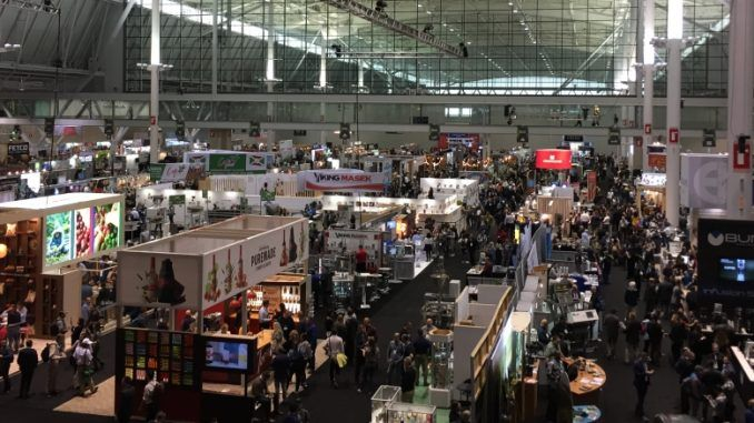 Global Coffee Specialty Expo di Boston, Amerika Serikat, 2019