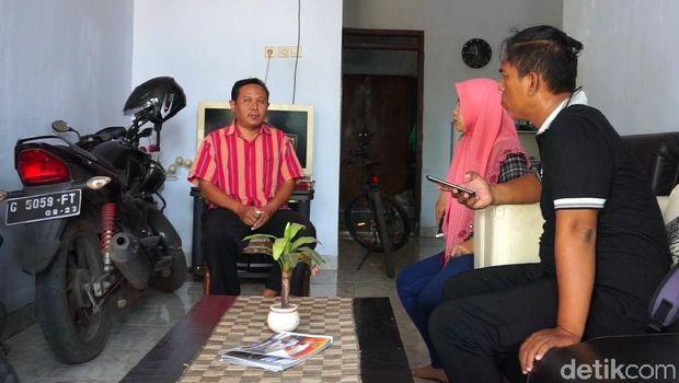 Orangtua Yamni saat ditemui media