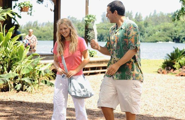Adam Sandler dan Drew Barrymore dalam 50 First Dates